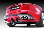 Piecha Design Jaguar F-Type V8 S Cabrio Roadster Tuning Aerodynamikkit Bodykit MP1 Monoblock Felgen Räder Heck
