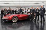 Pininfarina Ferrari Sergio 458 Spider 4.5 V8 Barchetta Front Seite Ansicht