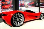 Ferrari World Design Contest Xezri IED Istituto Europeo di Design Heck Seite Ansicht