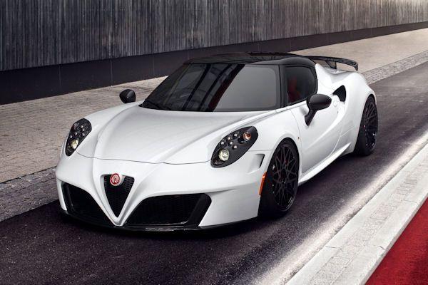 Ongebruikt Pogea Racing Alfa Romeo 4C Centurion 1plus: 300 km/h-Taschenrakete JC-01