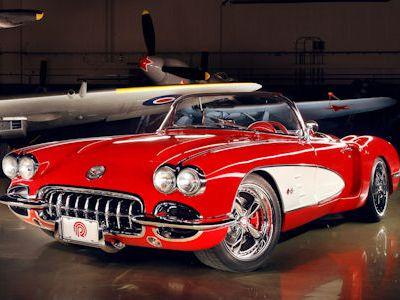 Autos Auto Racing On Pogea Corvette C1 Die Aufgem Belte Ur
