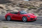 Porsche 911 Carrera S Cabrio 991 Facelift 2016 Sechzylinder Biturbo Boxermotor PDK Sport Chrono Paket Mode Schalter PASM PCM Internet Smartphone Porsche Car Connect Front Seite