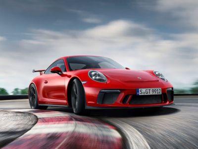 Porsche 911 GT3 2017 Sechszylinder Saugmotor PDK PASM PCM PTV plus Torque Vectoring Internet Smartphone App Porsche Car Connect
