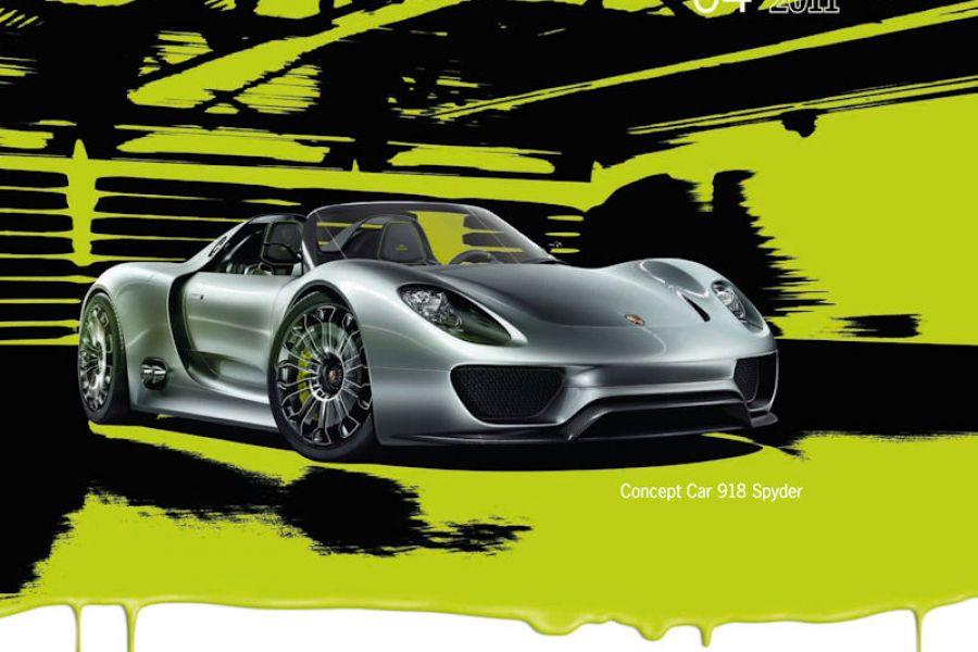 porsche 918 spyder concept april 2011 bild 5 speed heads. Black Bedroom Furniture Sets. Home Design Ideas