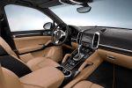 Porsche Cayenne Platinum Edition Sport SUV Platinsilber V6 Design Interieur Innenraum Cockpit