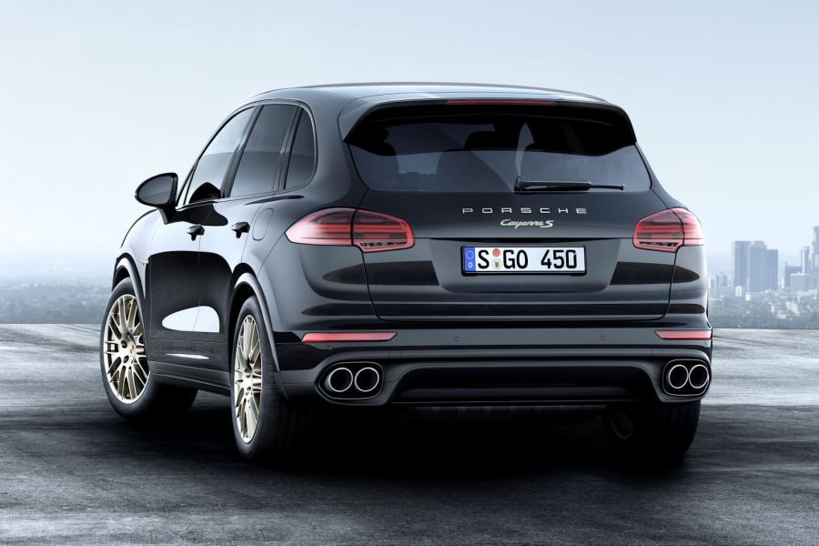 porsche cayenne platinum edition edelmetall zum hei en. Black Bedroom Furniture Sets. Home Design Ideas