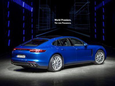 Porsche Panamera 4S Diesel 2017 Gran Turismo Luxus Limousine Allradantrieb 4WD Achtzylinder Sport Chrono Paket PASM PTM PDCC Sport PTV Plus PDK PCM Porsche InnoDrive WLAN Internet Smartphone