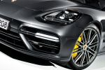 Porsche Panamera Turbo 2017 Gran Turismo Luxus Limousine Allradantrieb 4WD Achtzylinder V8 Biturbo Sport Chrono Paket PASM PTM PDCC Sport PTV Plus PDK PCM Porsche InnoDrive WLAN Internet Smartphone Front