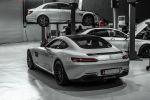 PP-Performance Mercedes-AMG GT S Chiptuning Leistungssteigerung 4.0 V8 Biturbo Rennfilter CAtless Kit Kennfeldanpassung Jimmy Pelka Heck Seite