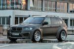 Prior Design BMW X5 E70 PD5X Widebody Breitbaukit Bodykit Stylingkit Front Seite