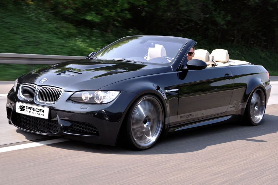 prior design bmw 3er cabrio widebody frischluft spa im. Black Bedroom Furniture Sets. Home Design Ideas