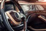 Prior Design Mercedes-Benz S-Klasse PD800S Luxus Limousine V6 V8 V12 AMG Biturbo W222 Bodykit Carbon Aerodynamikkit Lounge Krokodilleder Nappaleder Alcantara Humidor Flatscreen Interieur Innenraum Cockpit