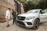 Mercedes-Benz Jurassic World GLE 450 AMG Coupé Dinosaurier Front