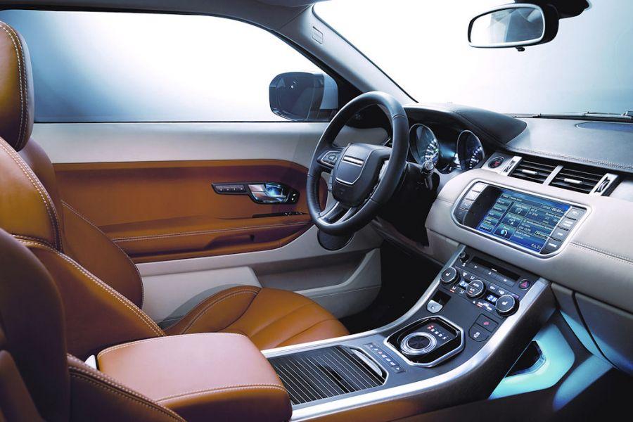 Range Rover Evoque Premium Kompakt Suv Startet Mitte