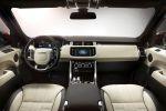 Land Rover Range Rover Sport 2014 5.0 V8 Supercharged Kompressor 3.0 SDV6 TDV6 4.4 SDV8 Diesel Hybrid Offroad Sportler Geländewagen Terrain Dynamic Response Torque Vectoring Wade Sensing Interieur Innenraum Cockpit
