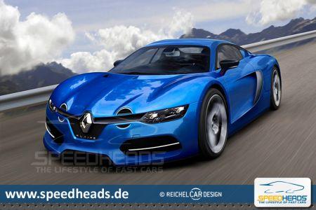 Renault Alpine 2016 Sportwagen Vierzylinder Mittelmotor