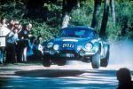 Renault Alpine A110 Berlinette Portugal Rallye 1973 Sportwagen Leichtbauweise Front