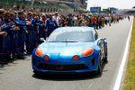 Renault Alpine Celebration Concept Sportwagen Leichtbauweise Vierzylinder Turbo Le Mans Front