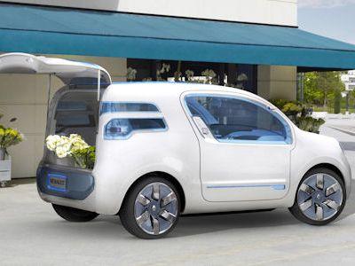 renault kangoo rapid z e concept der elektro transporter. Black Bedroom Furniture Sets. Home Design Ideas