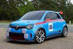 Renault Twin Run Concept 3.5 V6 Kleinwagen Sportwagen Performance Twingo Front Seite