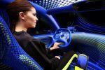 Renault Twinz Concept City Car LED Twingo Touchscreen Interieur Innenraum Cockpit