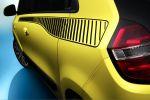 Renault Twingo 2014 Kleinstwagen City Car Stadtflitzer Heckmotor Hinterradantrieb Dreizylinder Fünftürer Viertürer Heck Seite