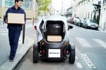 Renault Twizy Cargo Microtransporter Elektroauto City Stadt Kurier Lieferwagen Kofferraum Heck