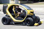Renault Twizy F1 Concept ZE Elektroauto Renault Sport KERS MGU KCU Elektromotor Boost Front Seite