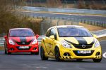 Rent4Ring Opel Corsa OPC Nürburgring Nordschleife Opel Performance Center Mietwagen Ringtool Front Ansicht