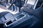 Porsche Macan Turbo Test - Sport Plus Modus Schalter Wählhebel Mittelkonsole
