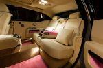 Rolls Royce Ghost FAB1 Million EWB Extended Wheel Base V12 Langversion Thunderbirds Breast Cancer Care Interieur Innenraum Fond