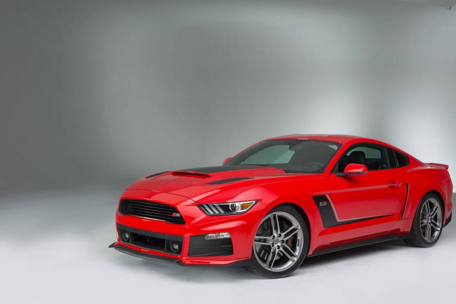 roush ford mustang wahnsinns deal 737 ps f r usd. Black Bedroom Furniture Sets. Home Design Ideas