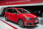 Seat Alhambra 20th Anniversary 2016 Familien Van TDI TSI DSG Seat Full Link App Connect Internet Smartphone Konnektivität MirrorLink Android Auto Apple Car Play Infotainment Front Seite