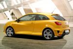 Seat Ibiza Cupra Concept 1.4 TSI XDS Sportcoupe Seat Portable System Heck Seite Ansicht