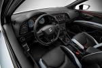 Seat Leon Cupra 2.0 TSI Turbo Performance Dynamic Chassis Control DCC Vorderachs-Differentialsperre Progressivlenkung DSG Sportversion Kompaktsportler Interieur Innenraum Cockpit