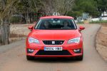 seat leon fr 2.0 tdi 5f test - turbo diesel drive profile sport comfort eco effizienz touchscreen touch colour plus easy conncet media kompaktklasse front