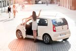 Seat Mii by Mango Fashion Mode Style Kleinstwagen City Glam Beige1.0 Dreizylinder Heck Seite