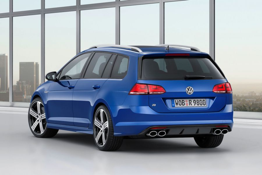 vw golf r variant 2015 pure kraft jetzt erstmals als kombi speed heads. Black Bedroom Furniture Sets. Home Design Ideas