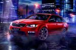 Skoda Octavia Combi RS 230 Kombi Sportversion 2.0 TSI VAQ Vorderachsquersperre DSG Adaptive Cruise Assistant Intelligent Light Automatic Lane Assistant Spurhalteassistent KESSY Crew Protect Front Seite