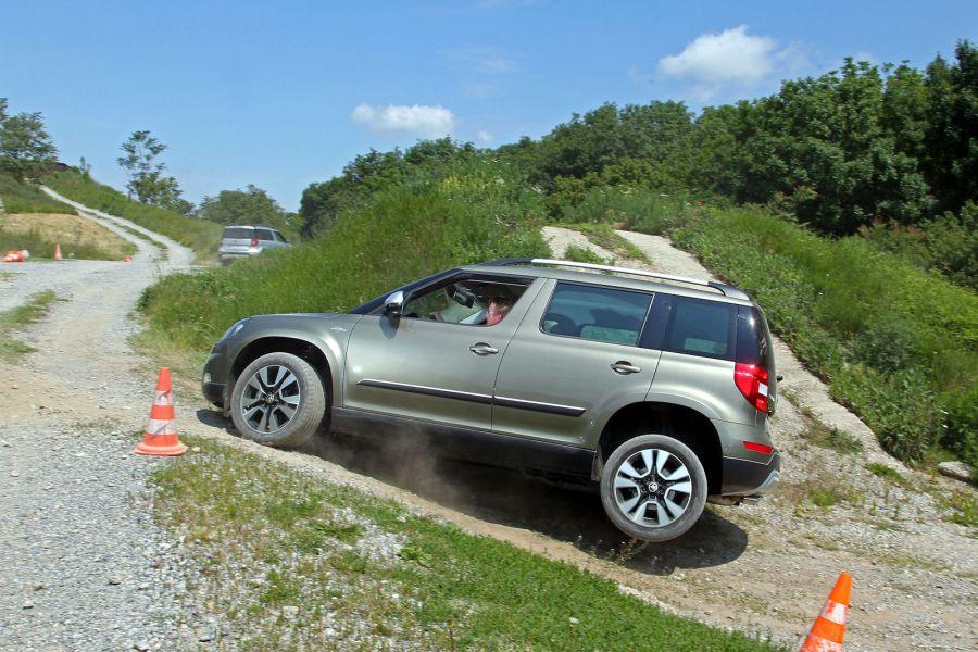 Skoda Yeti Outdoor 4x4 Der Offroad Test Held Oder