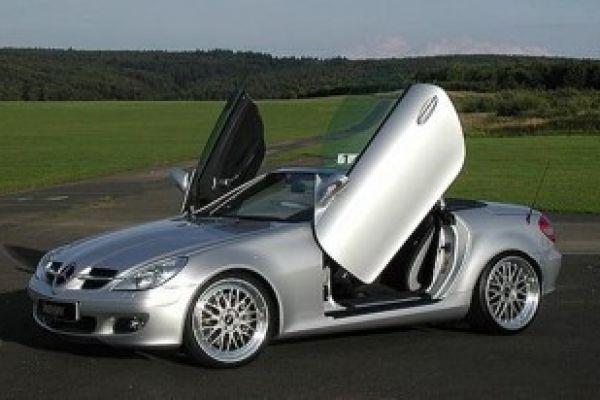 slk roadster erstmals mit fl gelt ren speed heads. Black Bedroom Furniture Sets. Home Design Ideas