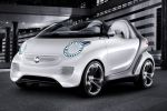 Smart Forspeed Concept Elektro Motor Boost Electric Drive Zero Emission Tridion Roadster Smartphone Smart drive App fort he iPhone Smart Touch Car Finder Front Seite Ansicht