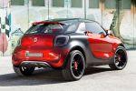 Smart Forstars SUC Sports Utility Coupe Beamer Kino Elektromotor Electric Drive Heck Seite Ansicht