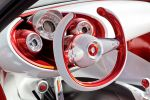 Smart Forstars SUC Sports Utility Coupe Beamer Kino Elektromotor Electric Drive Interieur Innenraum Cockpit Lenkrad