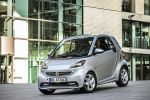 Smart Fortwo Edition Citybeam Dreizylinder Turbo MHD Micro Hybrid Drive Electric Drive Elektroauto Elektromotor Passion Softouch Front Seite