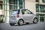 Smart Fortwo Edition Citybeam Dreizylinder Turbo MHD Micro Hybrid Drive Electric Drive Elektroauto Elektromotor Passion Softouch Heck Seite