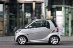 Smart Fortwo Edition Citybeam Dreizylinder Turbo MHD Micro Hybrid Drive Electric Drive Elektroauto Elektromotor Passion Softouch Seite