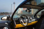 Smart Fortwo Edition Cityflame Gelb Schwarz Flame Yellow Dreizylinder Turbo MHD Micro Hybrid Drive Passion Softouch Interieur Innenraum Cockpit