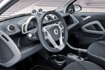 Smart Fortwo Iceshine Weiß Azurblau Dreizylinder Turbo MHD Micro Hybrid Drive Passion Softouch Interieur Innenraum Cockpit