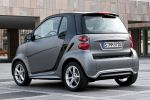 Smart Fortwo Facelift 2012 Dreizylinder Turbo CDI Pure Pulse Passion Brabus Xclusive Tridion City Heck Seite Ansicht